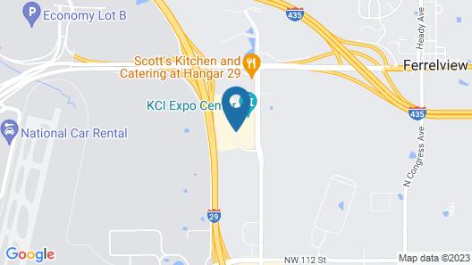 Fairfield Inn By Marriott Kansas City Airport Map
