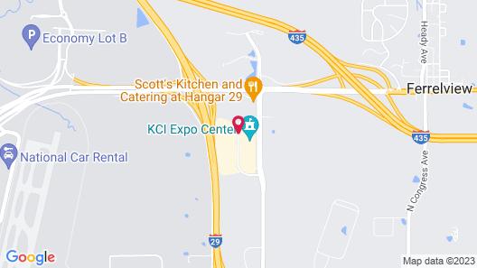Towneplace Suites Kansas City Airport Map