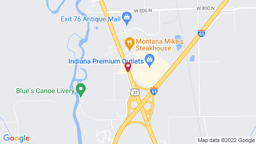 Best Western Edinburgh/Columbus Map