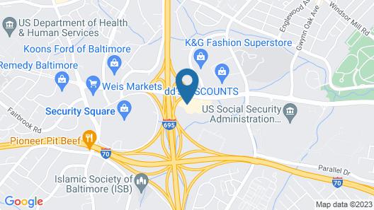 Days Inn by Wyndham Baltimore West Security Blvd Map