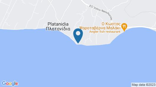 Villa Kallimanis Map