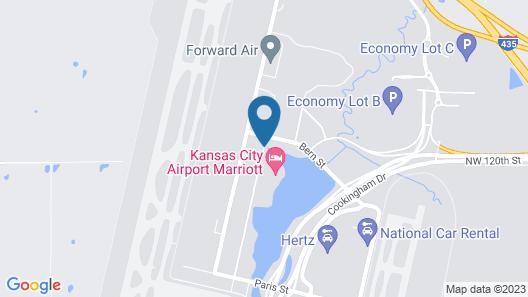 Kansas City Airport Marriott Map