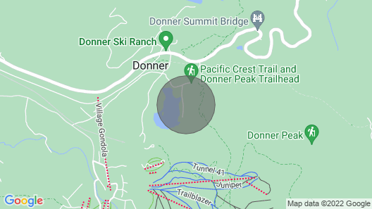 'Lake Mary Getaway' A  hidden gem on the top of the Donner Summit. Map