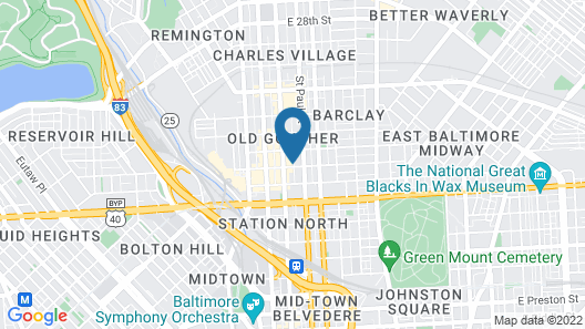 Charm in the City Map