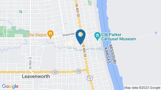 Hampton Inn Leavenworth Map