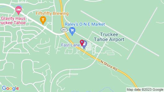 Hampton Inn & Suites Tahoe-Truckee Map