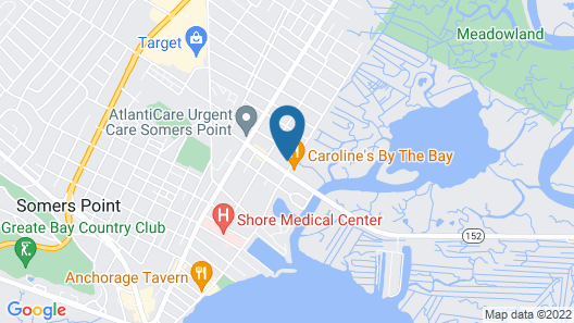 Motel 6 Somers Point, NJ - Ocean City - Wild Wood Beach Map