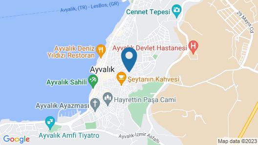 Hayriye Hanim Ege Map