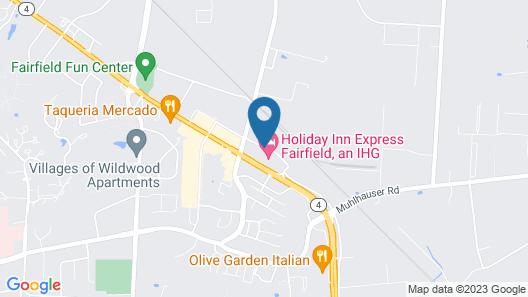 Holiday Inn Express Fairfield, an IHG Hotel Map