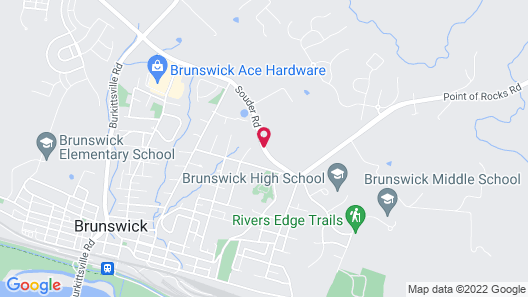 Travelodge by Wyndham Brunswick near Frederick Map