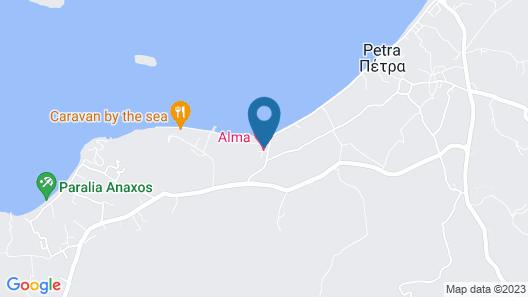 Alma Beach Map