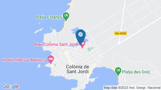 Blau Colonia Sant Jordi Resort & Spa Map