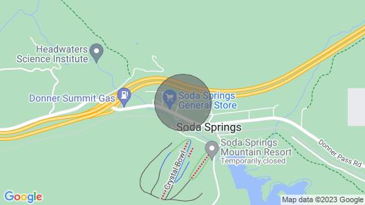 Soda Springs House W/deck & Grill-near Ski Resort! Map