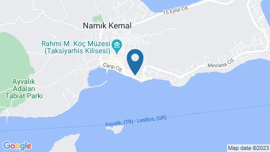 Cunda Despot Evi Map