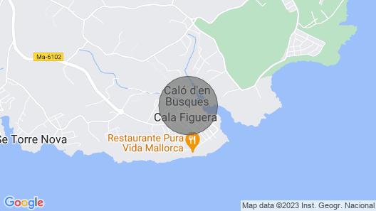 Sa Barraqueta, a dream by the sea Map