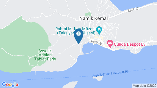 Mola Cunda Hotel Map