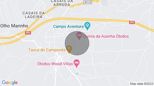 Charm & Nature Azenha D Óbidos Farm Map