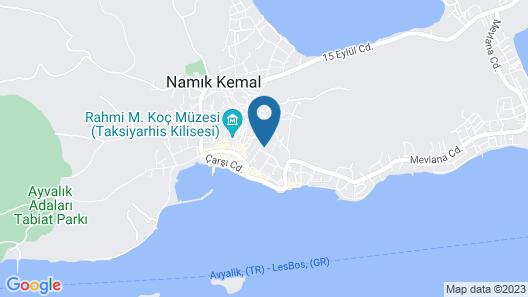Cunda Exodus Otel Map