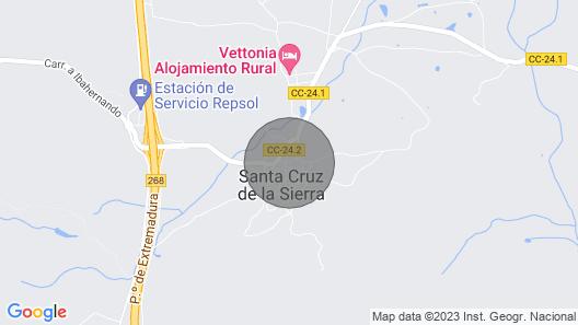 Suite Rural Risco Chico Map