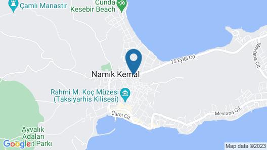 Cunda Mira Butik Otel Map
