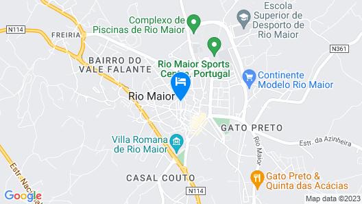 Casa do Foral Map