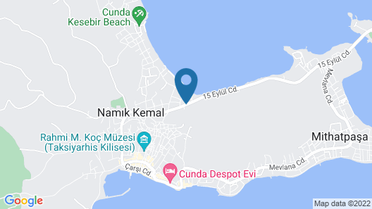 Sukha Cunda Otel Map