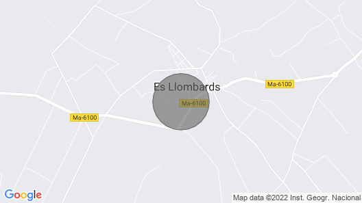 House With Garden and Swimming Pool/ideal for Families - Es Llombards Map