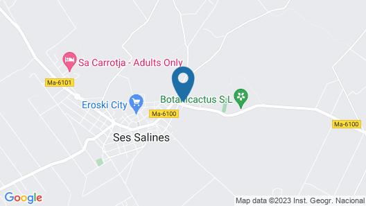 Villa Station Las Salinas Map