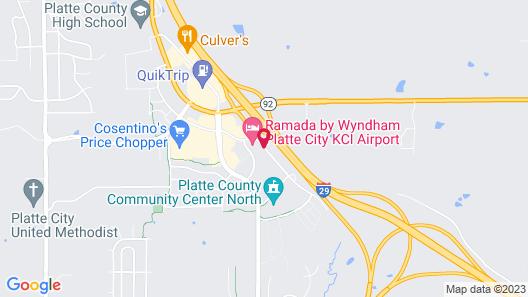 Ramada by Wyndham Platte City KCI Airport Map