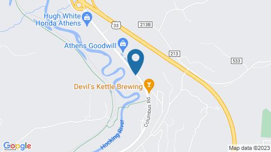 Days Inn by Wyndham Athens Map