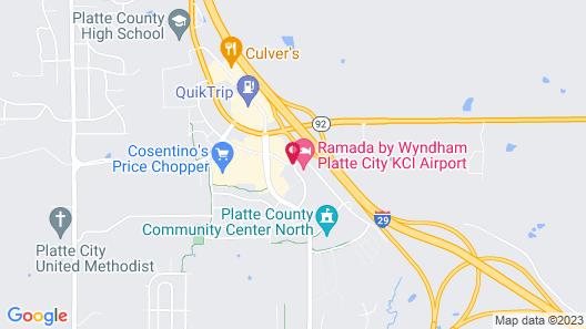 Super 8 by Wyndham Platte City Kansas City Area Airport Map