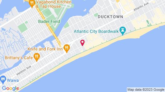 Rodeway Inn Oceanview Map