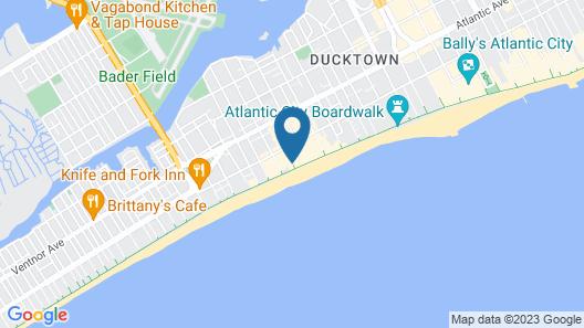 Days Inn by Wyndham Atlantic City Oceanfront-Boardwalk Map