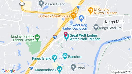 Great Wolf Lodge Cincinnati/Mason Map