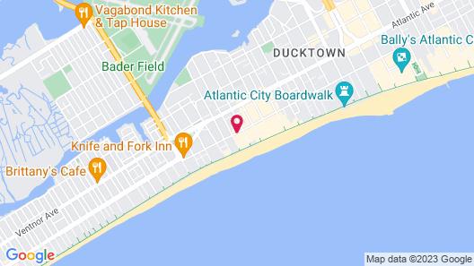 Quality Inn Flamingo Map