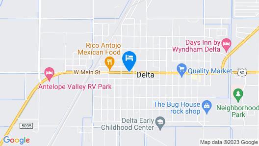 Diamond D Motel Map