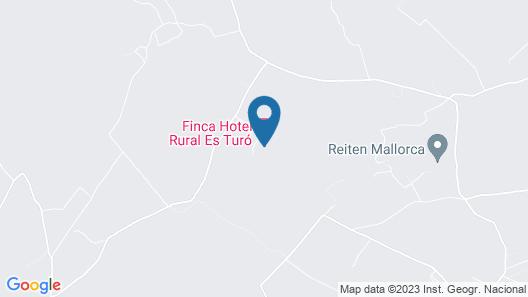 Hotel Rural Es Turó Map