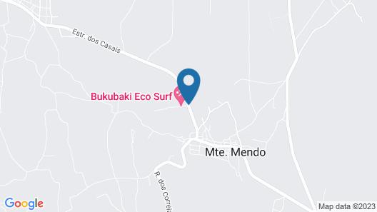 Bukubaki eco surf resort Map