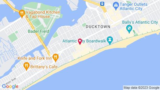 Tropicana Atlantic City Map