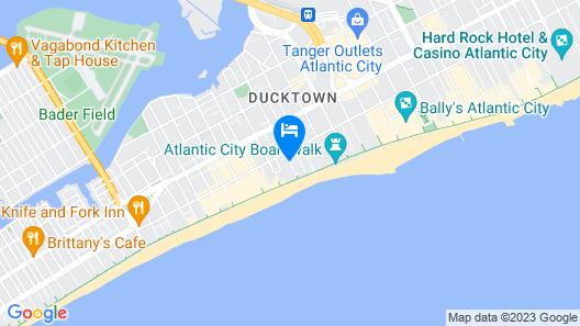 City House Hostel Atlantic City Map