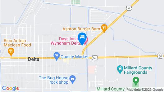 Days Inn by Wyndham Delta Map