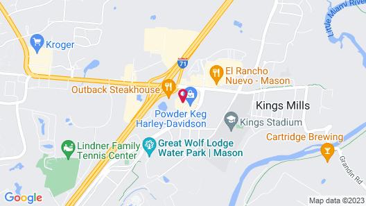 Residence Inn by Marriott Cincinnati Northeast/Mason Map