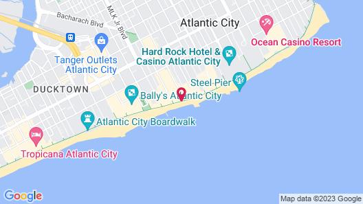 Atlantic Palace Suites Map