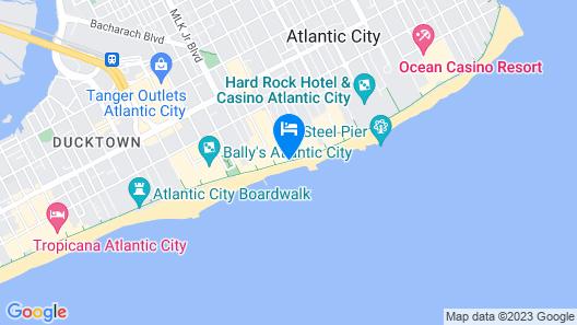 FantaSea Resorts Atlantic Palace Map