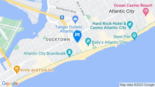 Caesars Atlantic City Resort & Casino Map