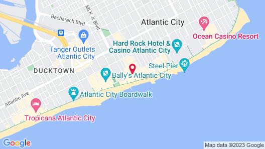 Days Inn by Wyndham Atlantic City Beachblock Map