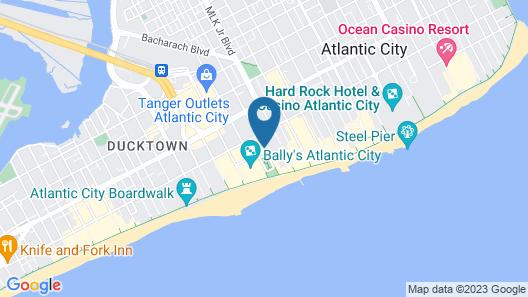 The Claridge - A Radisson Hotel Map