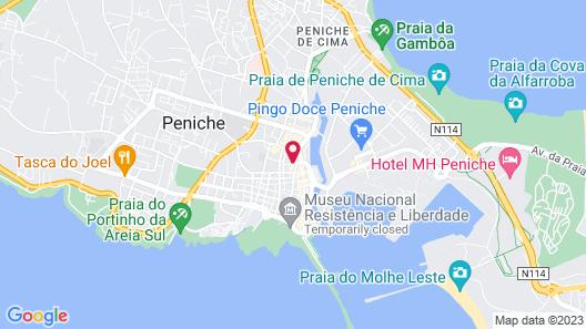 Ó da Casa-Typical Portuguese Guest House Map