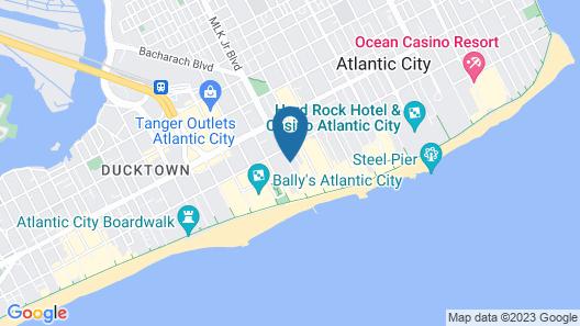 Madison Hotel Boardwalk Map