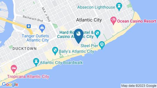 Super 8 by Wyndham Atlantic City Map